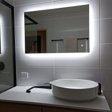 BATHROOM VANITIES & MIRRORS