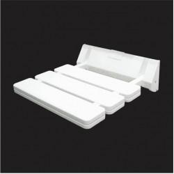 Aquant White PVC Bath Chair1504