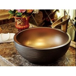 Toyo Hand crafted Cermic basin   562