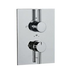 JAQUAR CON BATH & SHOWER MIXER WITH THERMOSTATIC- FLR-CHR-5671