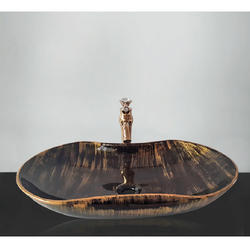 TOYO Metallic Designer Ceramic Wash Basin  534
