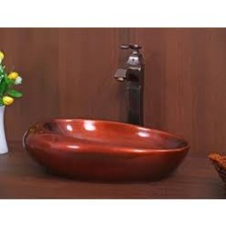 TOYO Hand crafted Ceramic basin   541