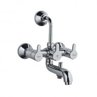 JAQUAR Wall Mixer 3 in 1 Fusion Shower Tap (silver)  FUS-CHR-29281