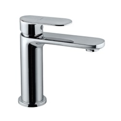 Jaquar Opal Prime Chrome Single Lever Basin Mixer with 450 mm Braided Hose, OPP-CHR-15011BPM