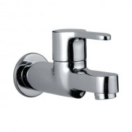 Jaquar Fusion Chrome Bib Cock with Wall Flange, FUS-CHR-29037