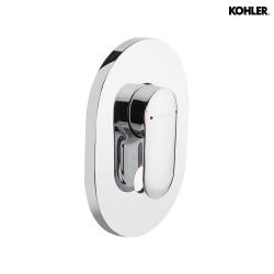 KOHLER Kumin 99472IN-4FP-CP Recessed Bath & Shower Trim In Polished Chrome