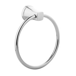 KOHLER 5631IN-CP Towel Ring (Silver)