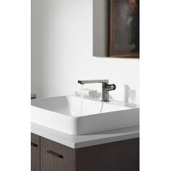 KOHLER 73050T-7-AF  Composed Single-Handle Bathroom Sink Faucet with Cylindrical Handle,French Gold