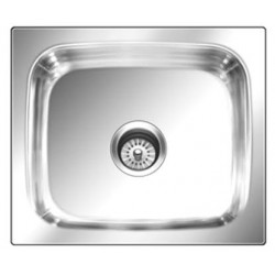 Nirali Sink 24X18X8.5 Grace Plain Large Glossy