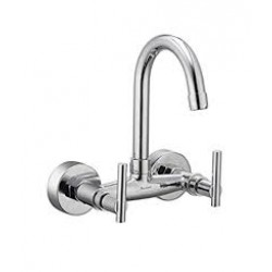 Parryware G0639A1 Quarter-Turn-Sink-Mixer Mixer Faucet  (Wall Mount Installation Type)   G0639A1