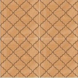 Arabesque Heavy Duty Glazed Vitrified Parking Tiles